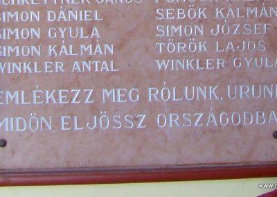 Viszák világháborús emléktábla 2011.11.12. küldő-Marton Bence (6)