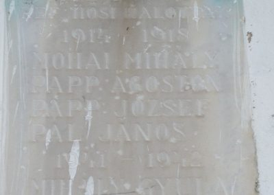 Visz régi világháborús emléktábla 2009.12.09. küldő-Sümec (1)
