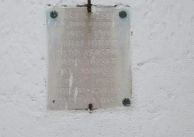 Visz régi világháborús emléktábla 2009.12.09. küldő-Sümec