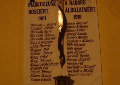 Vitnyéd Világháborús emléktáblák 2008.09.14.küldő-Huszár Peti