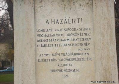 XII.kerület Budafok I.vh emlékmű 2008.04.03. küldő-Huszár Peti (3)