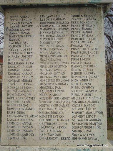 XII.kerület Budafok I.vh emlékmű 2008.04.03. küldő-Huszár Peti (5)