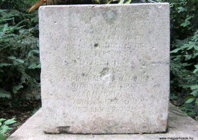 XIII. kerület Margitsziget I. világháborús emlékmű 2014.07.24. küldő-Emese (2)
