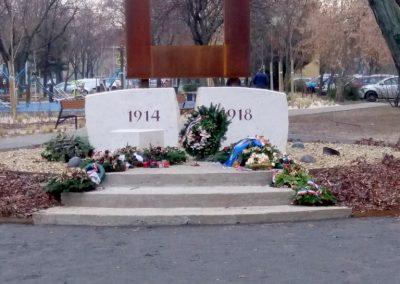 XIII. kerület Tüzér utca világháborús emlékmű 2018.12.13. küldő-Huszár Péter (1)