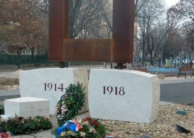XIII. kerület Tüzér utca világháborús emlékmű 2018.12.13. küldő-Huszár Péter (3)