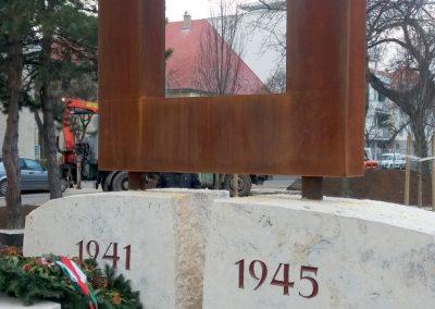 XIII. kerület Tüzér utca világháborús emlékmű 2018.12.13. küldő-Huszár Péter (5)