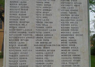 XIX. kerület Kispest I.vh emlékmű 2008.04.23. küldő-Huszár Peti (7)