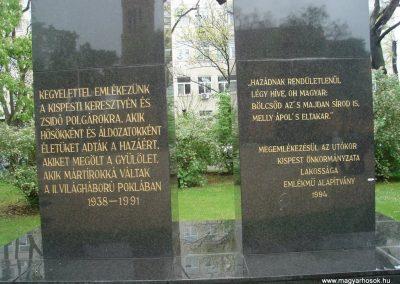 XIX. kerület Kispest II.vh emlékmű 2008.04.23. küldő-Huszár Peti (1)