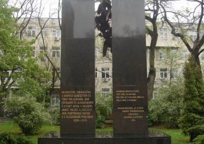 Budapest XIX ker Kispest II világháborús emlékmû