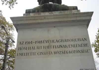 XVI. kerület Cinkota I.vh emlékmű 2008.04.14. küldő-Huszár Peti (3)