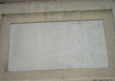 XVI. kerület Cinkota I.vh emlékmű 2008.04.14. küldő-Huszár Peti (4)
