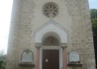 Budapest XXII ker Szent István templom I-II világháborús emlékmû