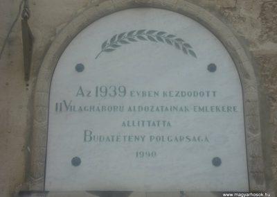 XXII. kerület Budatétény Világháborús emléktáblák 2008.05.16. küldő-Huszár Peti (3)