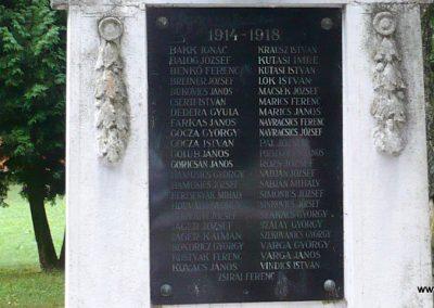 Zákányfalu világháborús emlékmű 2009.09.15. küldő-Sümec (2)