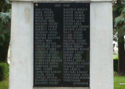 Zákányfalu világháborús emlékmű 2009.09.15. küldő-Sümec (4)