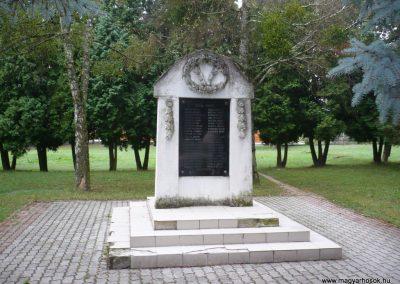 Zákányfalu világháborús emlékmű 2009.09.15. küldő-Sümec