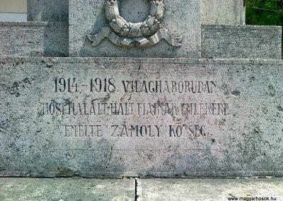 Zámoly I.vh emlékmű 2011.05.24. küldő-Csiszár Lehel (3)