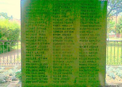 Zagyvarékas I.vh emlékmű 2011.06.14. küldő-Csiszár Lehel (4)