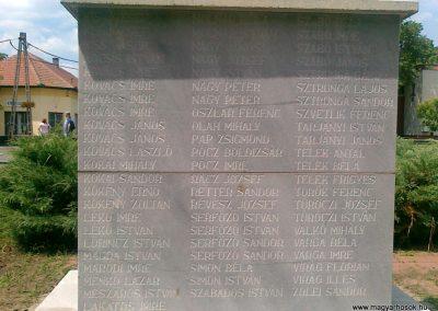 Zagyvarékas II.vh emlékmű 2011.06.14. küldő-Csiszár Lehel (12)