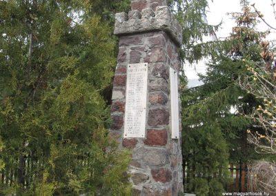 Zagyvaszántó világháborús emlékmű 2009.03.27. küldő-kalyhas (2)