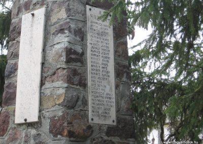 Zagyvaszántó világháborús emlékmű 2009.03.27. küldő-kalyhas (5)
