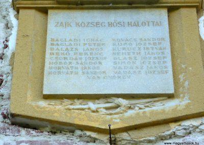 Zajk I.vh emléktábla 2010.06.29. küldő-Sümec (2)