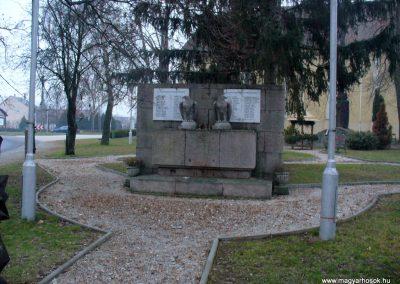 Zalabér világháborús emlékmű 2013.12.22. küldő-HunMi