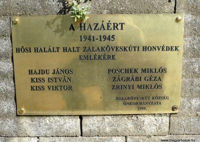 Zalaköveskút II. világháborús emlékmű 2013.04.14. küldő-Sümec (4)