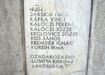 Zalakomár - Kiskomárom világháborús emlékmű 2012.04.11. küldő-Sümec (12)