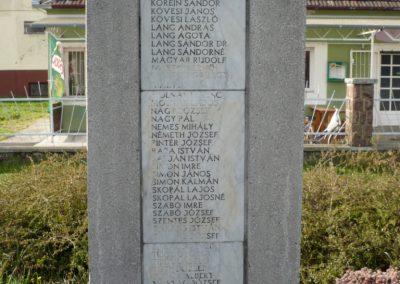 Zalakomár - Kiskomárom világháborús emlékmű 2012.04.11. küldő-Sümec (13)