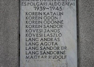 Zalakomár - Kiskomárom világháborús emlékmű 2012.04.11. küldő-Sümec (14)