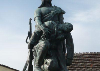 Zalakomár - Kiskomárom világháborús emlékmű 2012.04.11. küldő-Sümec (3)