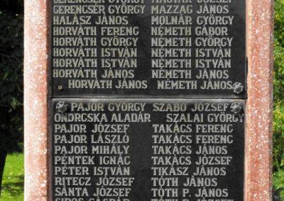Zalakomár-Komárváros világháborús emlékmű 2010.10.15. küldő--NEMES- (1)