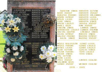 Zalakomár-Komárváros világháborús emlékmű 2010.10.15. küldő--NEMES- (2)