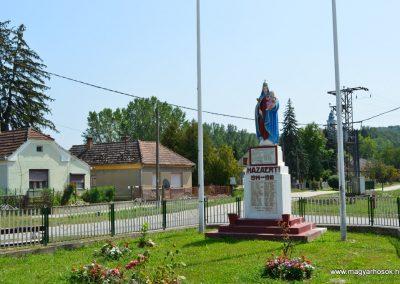 Zalamerenye világháborús emlékmű 2017.08.10. küldő-baloghzoli