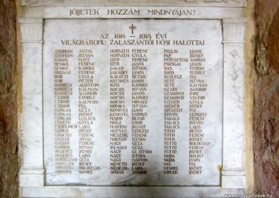 Zalaszántó I. világháborús emlékmű 2014.04.13. küldő-Sümegi Andrea (3)