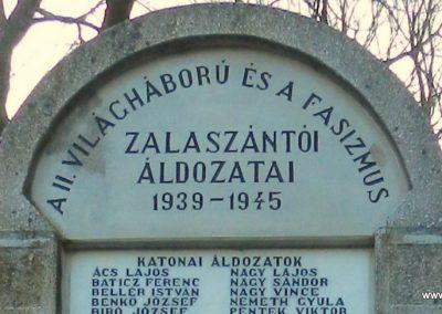 Zalaszántó II. világháborús emlékmű 2015.02.21. küldő-Huber Csabáné (1)