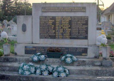 Zalaszabar II.vh emlékmű 2010.07.18. küldő-gyurkusz (1)