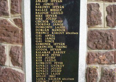 Zalaszentbalázs világháborús emlékmű 2009.05.15.küldő-Sümec (6)