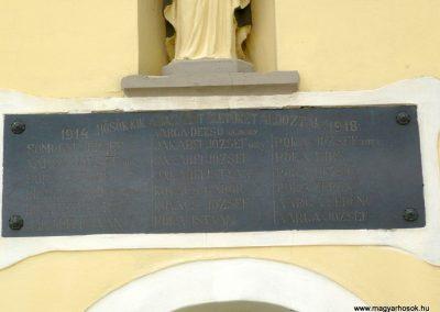Zalaszentjakab I. világháborús emléktábla 2013.05.26. küldő-Sümec (2)