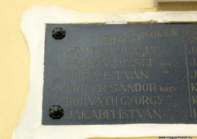 Zalaszentjakab I. világháborús emléktábla 2013.05.26. küldő-Sümec (3)