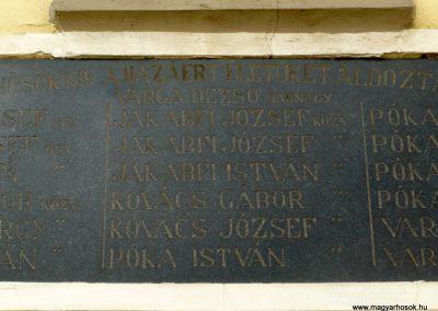 Zalaszentjakab I. világháborús emléktábla 2013.05.26. küldő-Sümec (4)