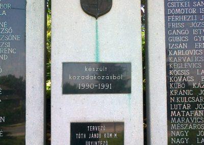 Zalaszentmihály világháborús emlékmű 2010.06.29. küldő-Csiszár Lehel (2)