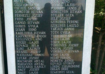 Zalaszentmihály világháborús emlékmű 2010.06.29. küldő-Csiszár Lehel (3)