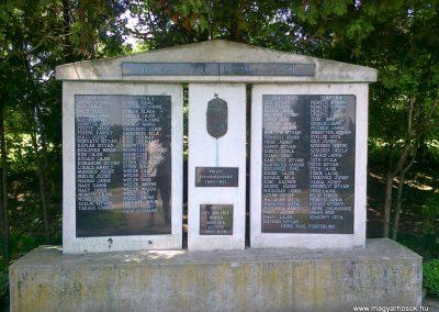 Zalaszentmihály világháborús emlékmű 2010.06.29. küldő-Csiszár Lehel