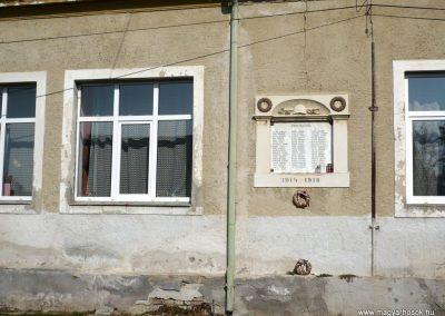 Zalatárnok I.vh emléktábla 2012.03.07. küldő-Sümec