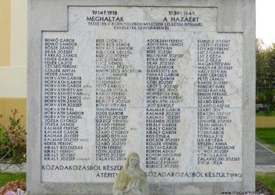 Zalavár világháborús emlékmű 2014.10.05. küldő-Huber Csabáné (2)