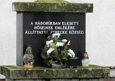 Zebecke világháborús emlék 2017.12-01. küldő-Huber Csabáné (1)