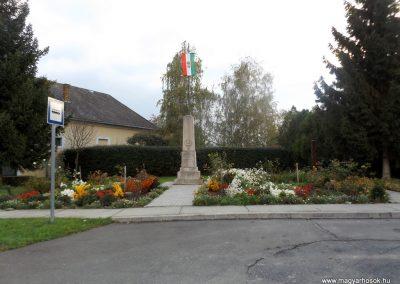 Zimány világháborús emlékmű 2014.10.26. küldő-kalyhas