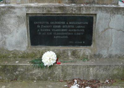Zsadány világháborús emlékmű 2008.12.30.küldő-Ágca (3)